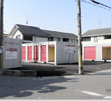 コンテナ収納ピット寝屋川店